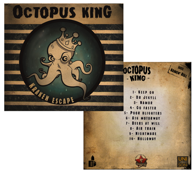 Octopus king: Nouvel Album Kraken Escape